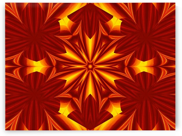 Fire Flowers 42 by Sherrie Larch