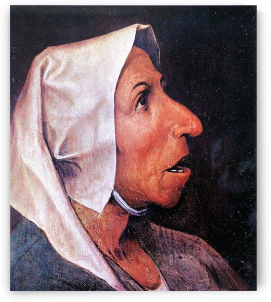 Old Farmer by Pieter Bruegel by Pieter Bruegel