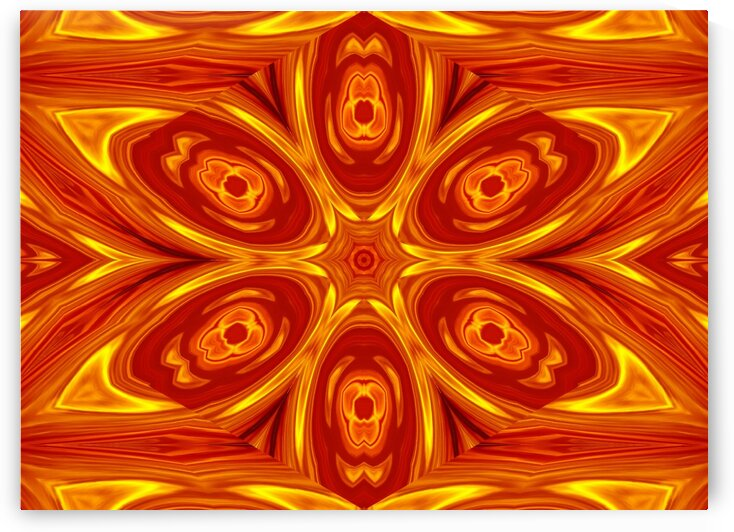 Fire Flowers 53 by Sherrie Larch