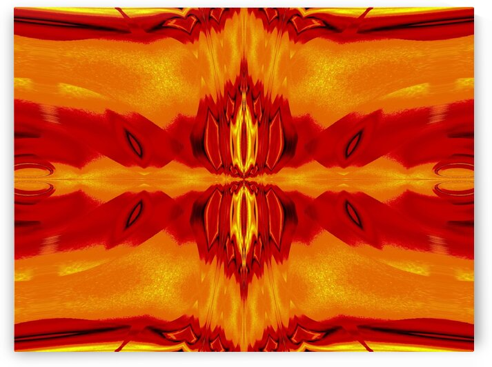 Fire Flowers 58 by Sherrie Larch