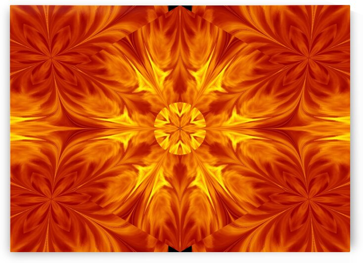 Fire Flowers 69 by Sherrie Larch