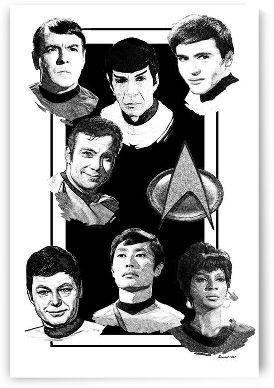 star trek original by Niceroad