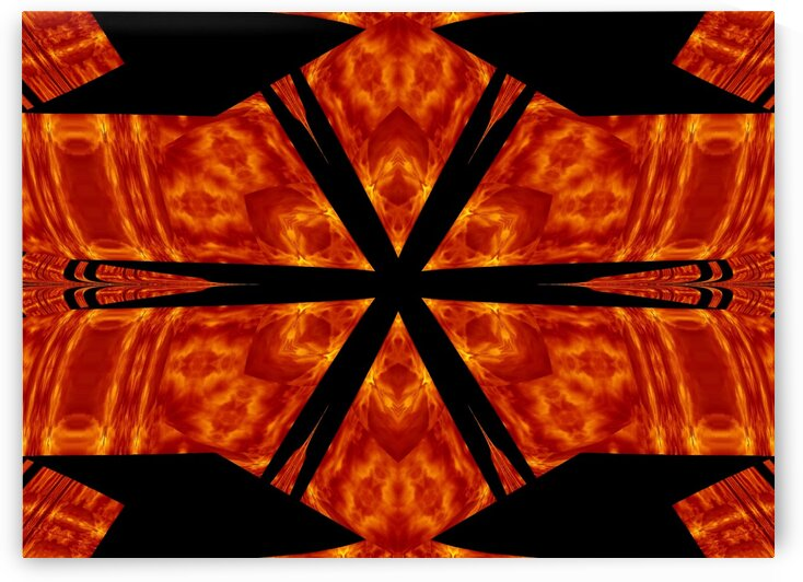 Fire Flowers 80 by Sherrie Larch