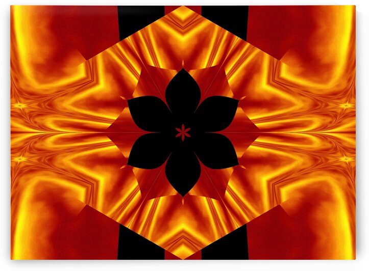 Fire Flowers 88 by Sherrie Larch