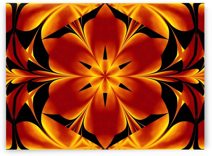Fire Flowers 94 by Sherrie Larch