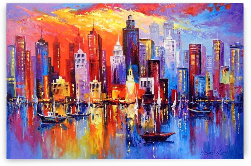 Evening new York by Olha Darchuk