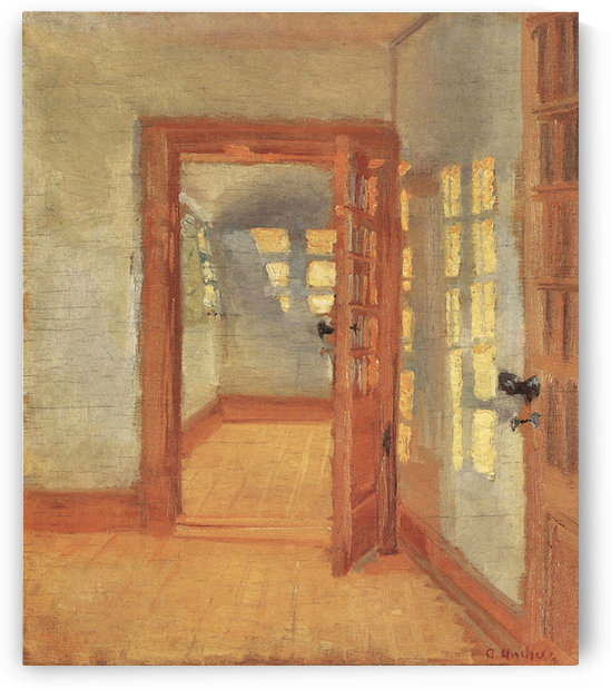 House by Anna Ancher by Anna Ancher