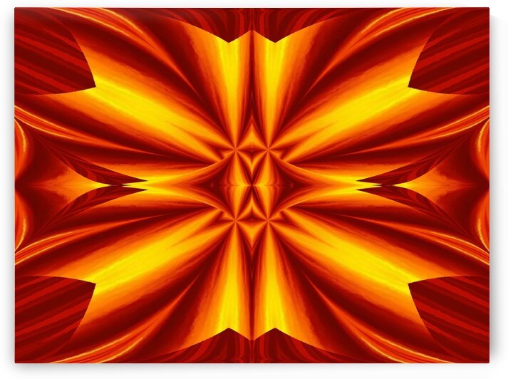 Fire Flowers 102 by Sherrie Larch