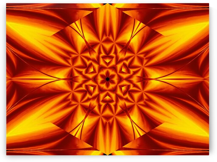 Fire Flowers 104 by Sherrie Larch
