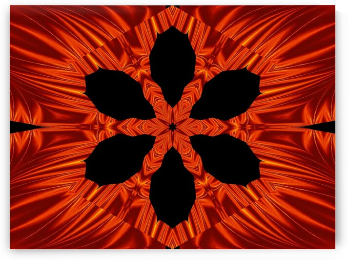 Fire Flowers 106 by Sherrie Larch