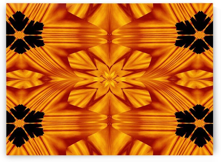 Fire Flowers 119 by Sherrie Larch