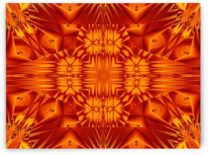 Fire Flowers 134 by Sherrie Larch