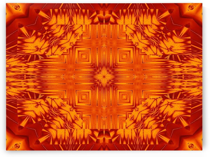 Fire Flowers 138 by Sherrie Larch