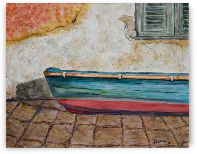 Italian Boat by Regan J Smith