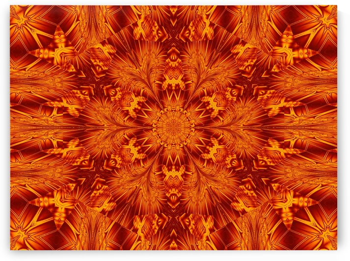 Fire Flowers 149 by Sherrie Larch