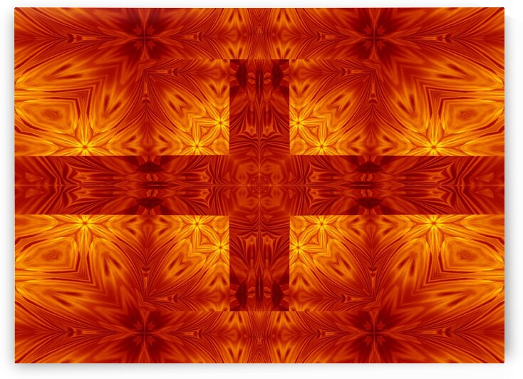 Fire Flowers 151 by Sherrie Larch