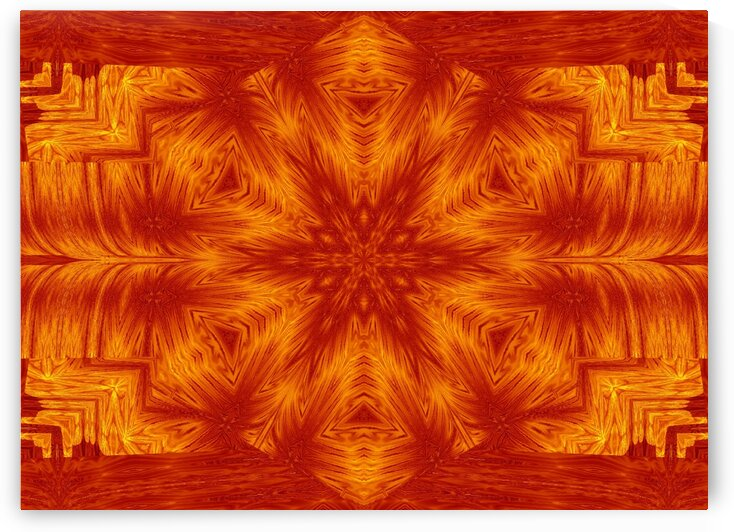 Fire Flowers 153 by Sherrie Larch