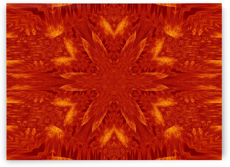 Fire Flowers 174 by Sherrie Larch