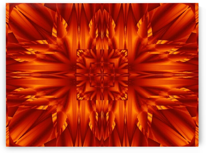 Fire Flowers 190 by Sherrie Larch