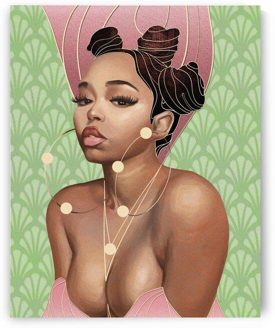 Twin Deer by 7th Artist