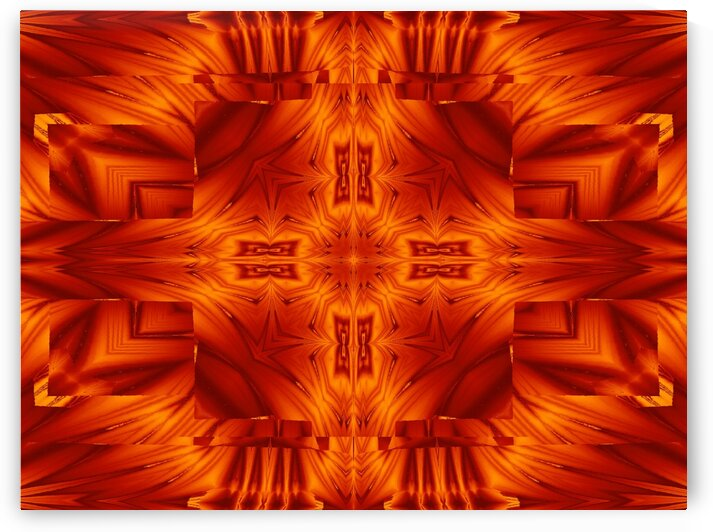 Fire Flowers 194 by Sherrie Larch