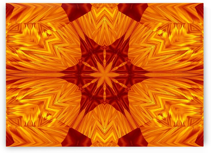 Fire Flowers 199 by Sherrie Larch