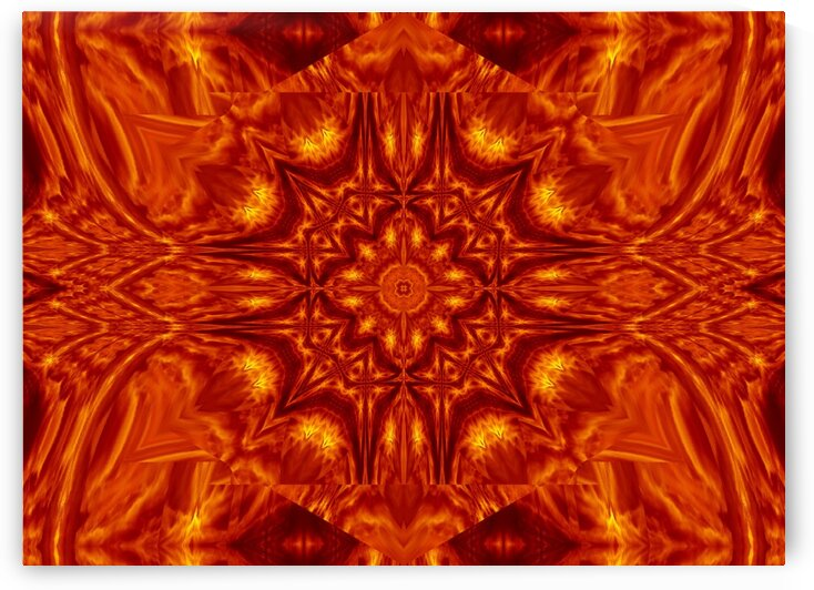 Fire Flowers 212 by Sherrie Larch
