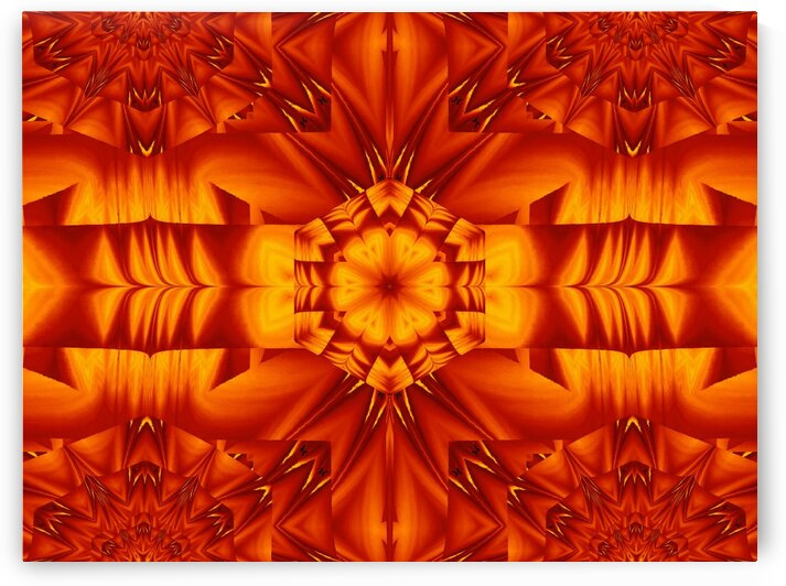 Fire Flowers 298 by Sherrie Larch