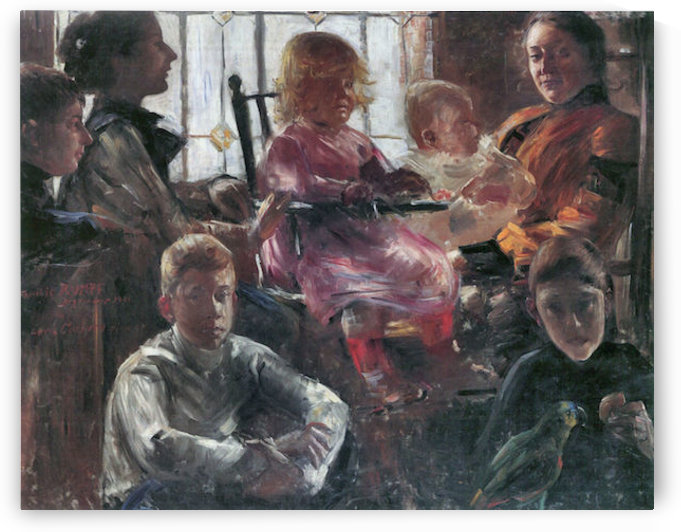 Hull family by Lovis Corinth by Lovis Corinth