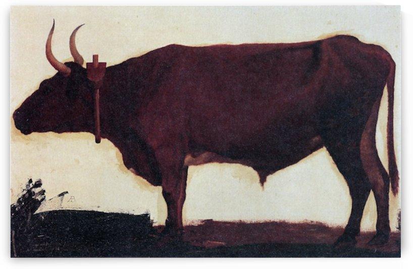Ox by Bierstadt by Bierstadt