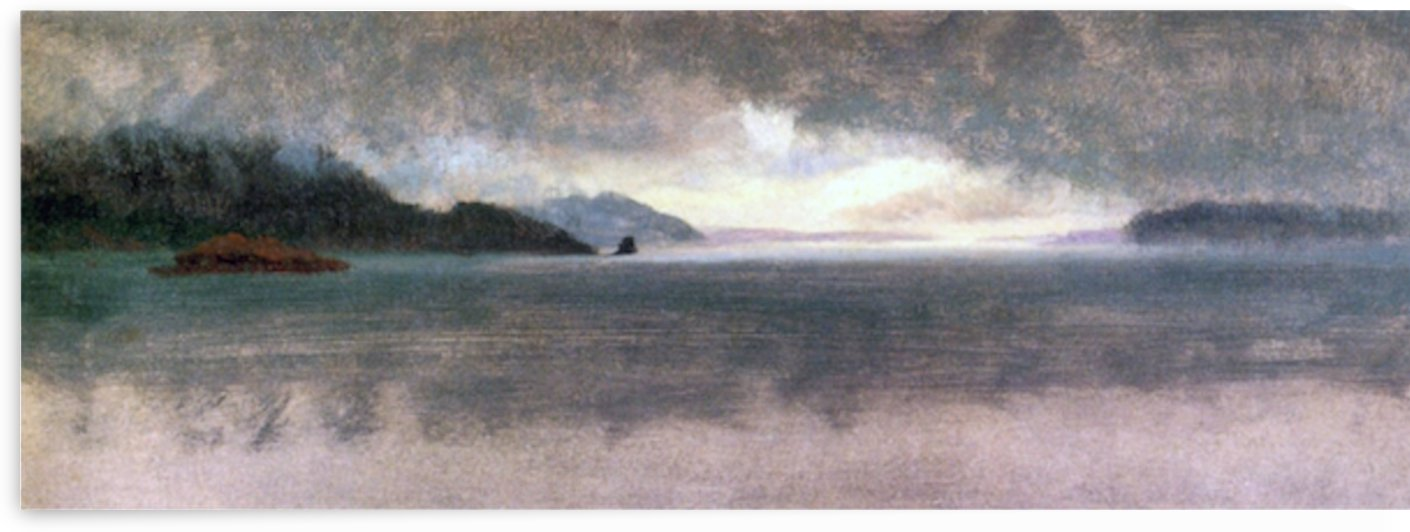 Pacific Northwest by Bierstadt by Bierstadt
