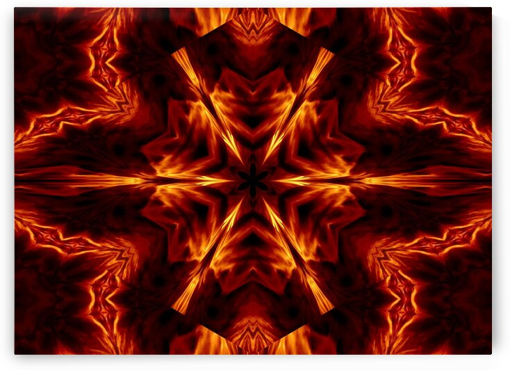 Eternal Flame Flowers 1 by Sherrie Larch