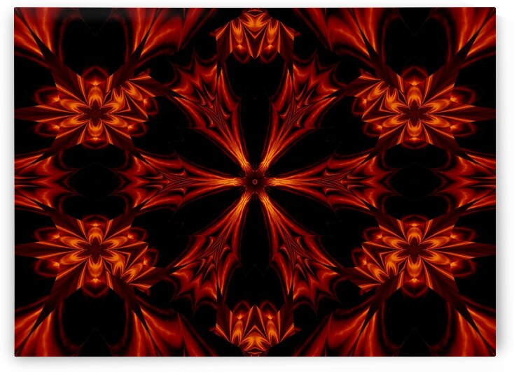 Eternal Flame Flowers 17 by Sherrie Larch