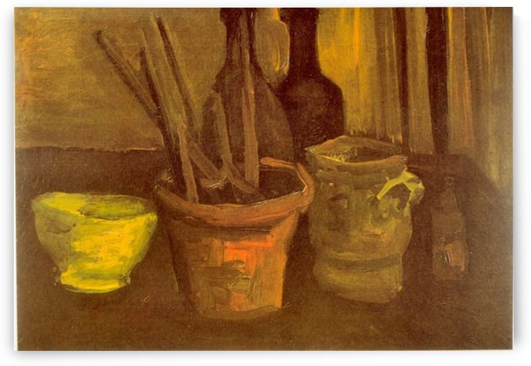Paintbrushes by Van Gogh by Van Gogh