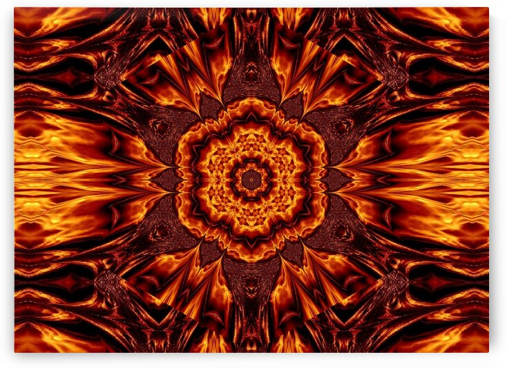 Eternal Flame Flowers 43 by Sherrie Larch