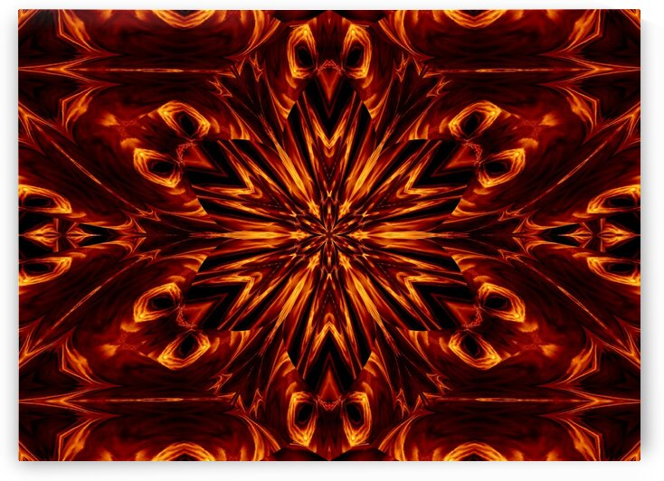 Eternal Flame Flowers 50 by Sherrie Larch