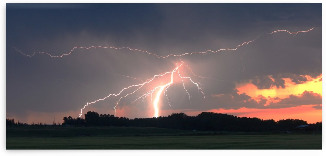 Summer lightning by Jody Majko