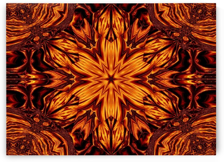 Eternal Flame Flowers 56 by Sherrie Larch