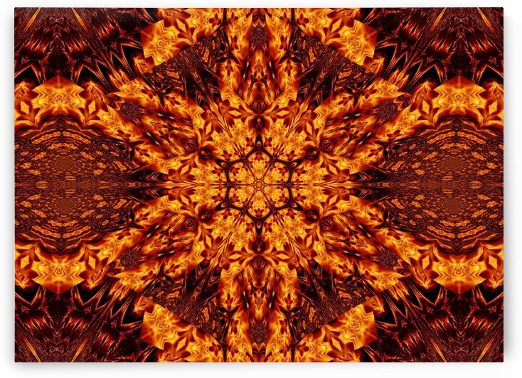 Eternal Flame Flowers 62 by Sherrie Larch