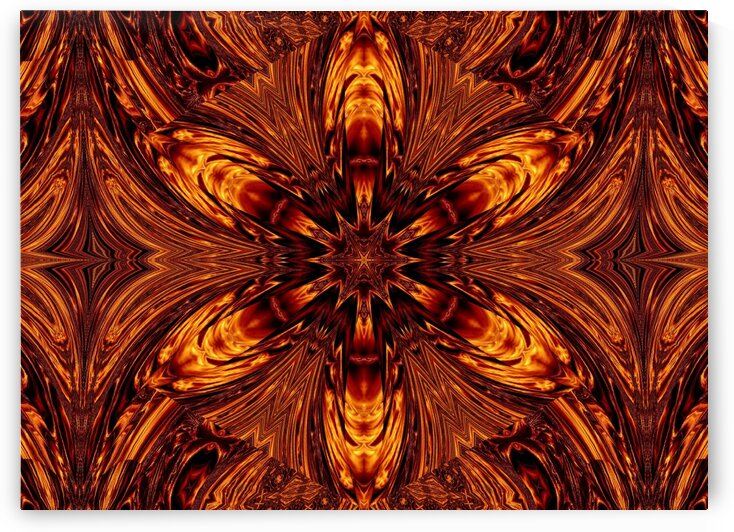 Eternal Flame Flowers 70 by Sherrie Larch
