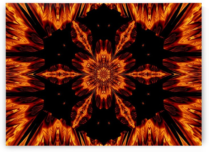 Eternal Flame Flowers 72 by Sherrie Larch