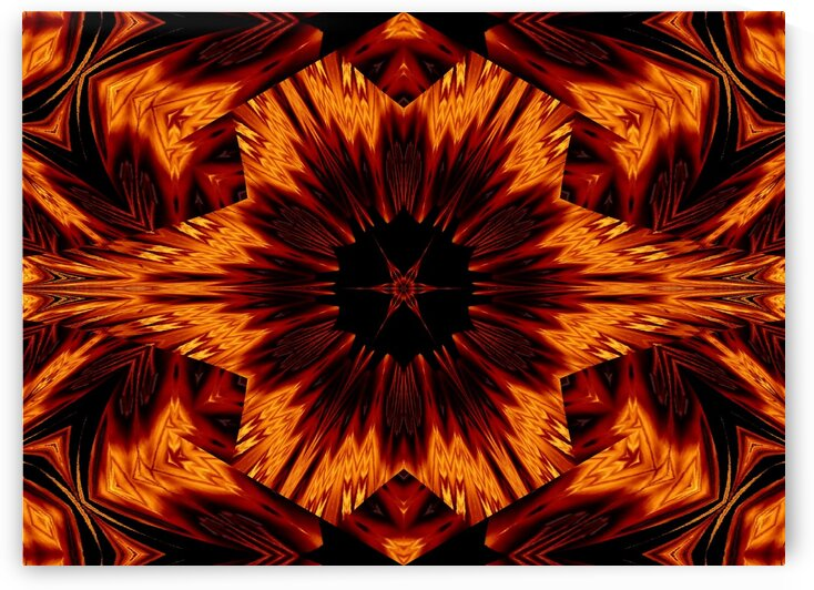 Eternal Flame Flowers 73 by Sherrie Larch