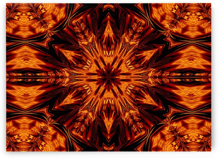 Eternal Flame Flowers 74 by Sherrie Larch