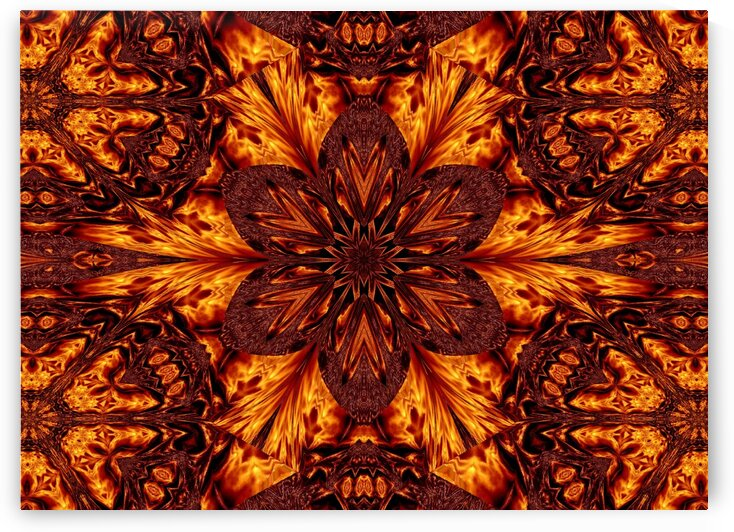 Eternal Flame Flowers 77 by Sherrie Larch
