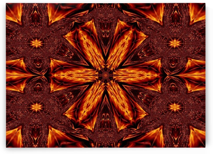 Eternal Flame Flowers 83 by Sherrie Larch
