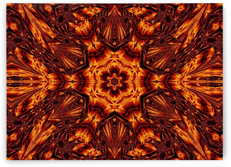 Eternal Flame Flowers 84 by Sherrie Larch