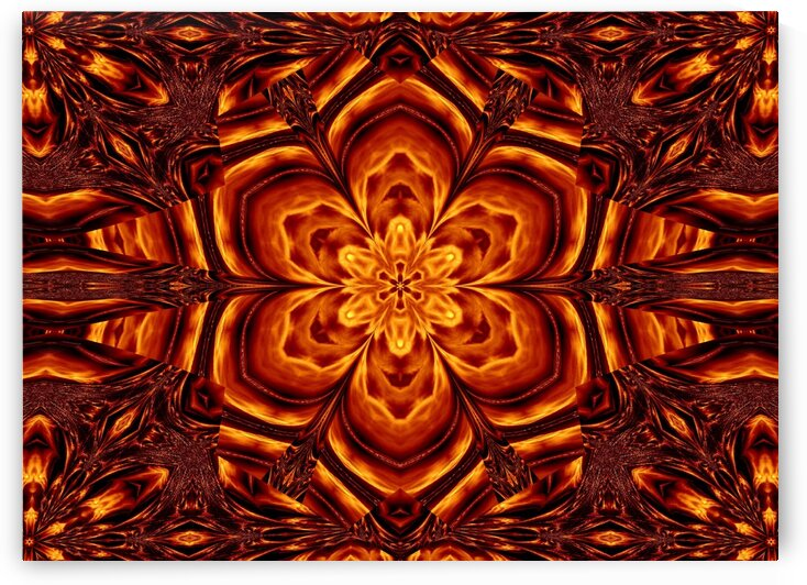 Eternal Flame Flowers 88 by Sherrie Larch