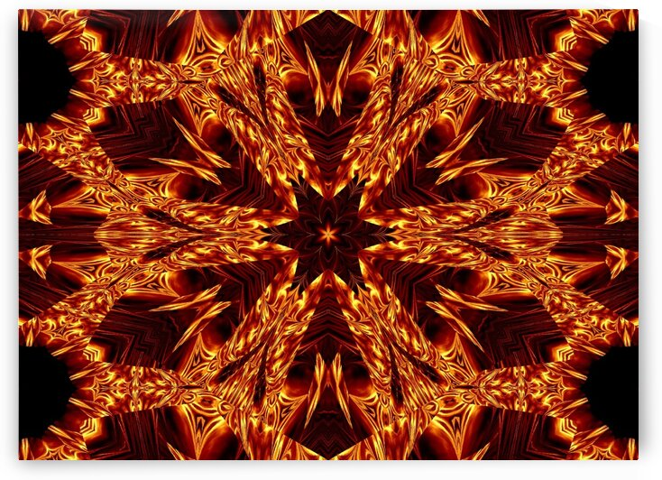 Eternal Flame Flowers 99 by Sherrie Larch