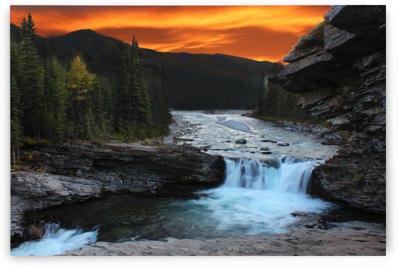 Sheep River Falls by Jody Majko