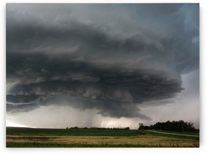 Beiseker Supercell by Jody Majko